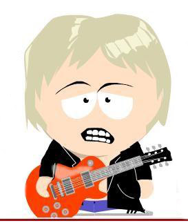 Loral Johnson as on South Park